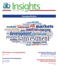 AIB InsightsVolume 15 Issue 1 (2015)