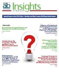 AIB InsightsVolume 16 Issue 3 (2016)