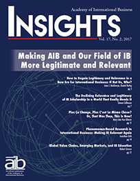 AIB InsightsVolume 17 Issue 2 (2017)