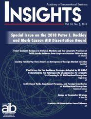 AIB InsightsVolume 18 Issue 3 (2018)